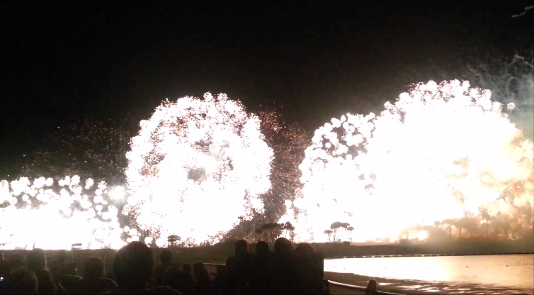 Introduce the Ocean Expo park firework festival with video the biggest in Okinawa