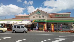 If you come to the Outlet Mall Ashibinaa, you can get good Okinawa souvenir at Toad station Toyosaki