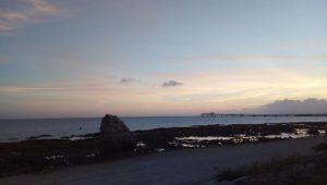 Enjoy delicious Italian cuisine while watching the beautiful sunset on Senagajima POSILLIPO cucina meridionale