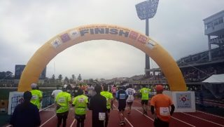 I participated in Okinawa marathon in 2020‼ I was able to finish
