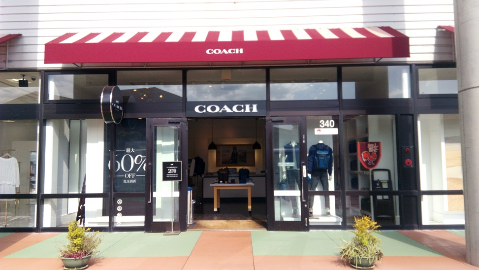 COACH shop in Okinawa outlet mall ASHIBINAA