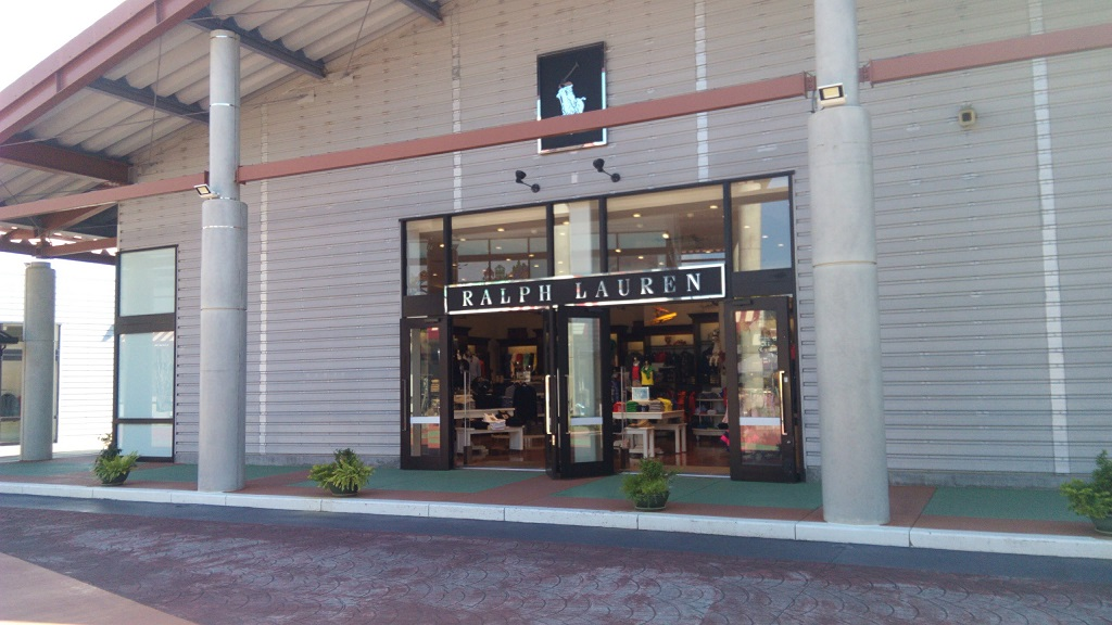 RALPH LAUREN shop in Okinawa outlet mall ASHIBINAA