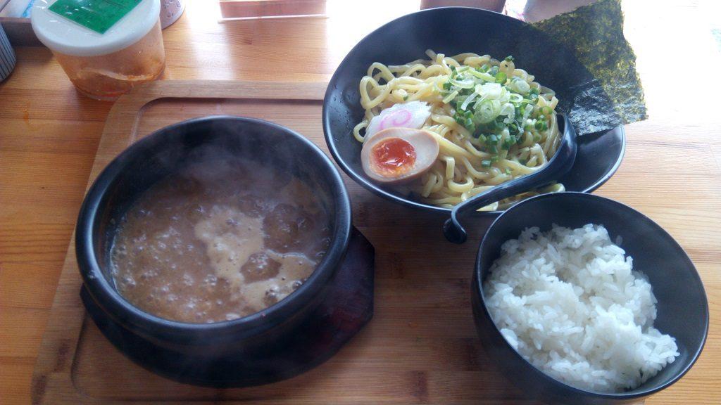 麺屋武虎のつけ麺 ご飯付き