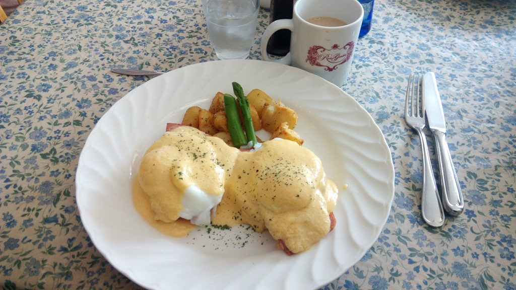 Popular menu of The Rose Garden Egg Benedict
