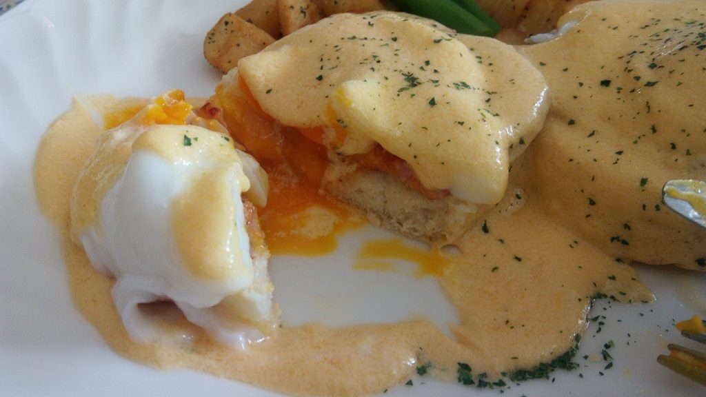 Popular menu of The Rose Garden Egg Benedict 2