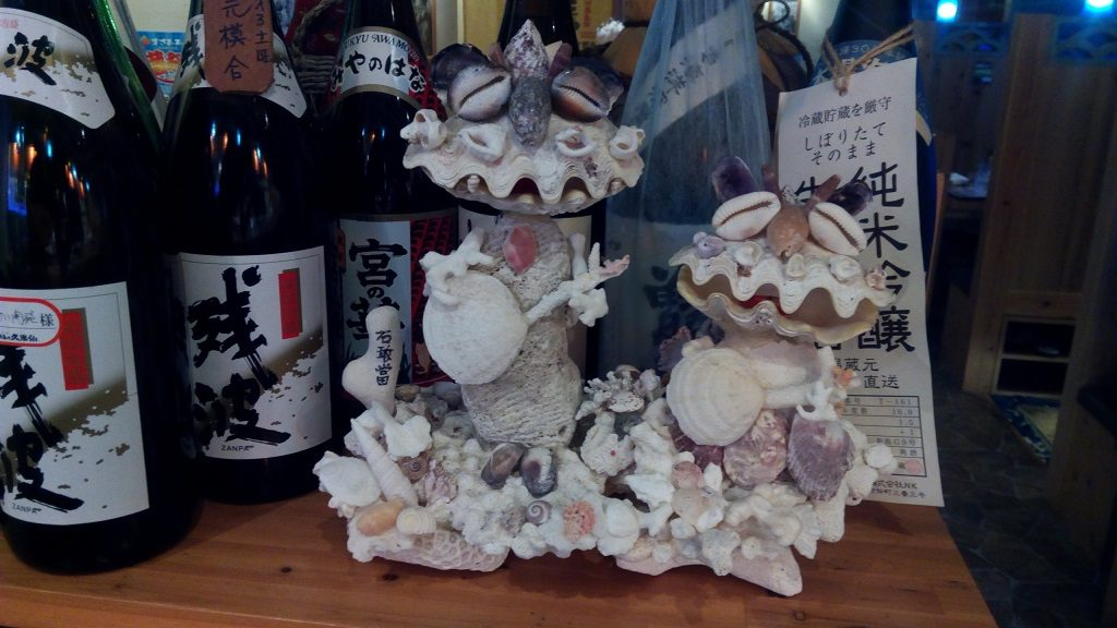 interesting Seasaa made from seashell