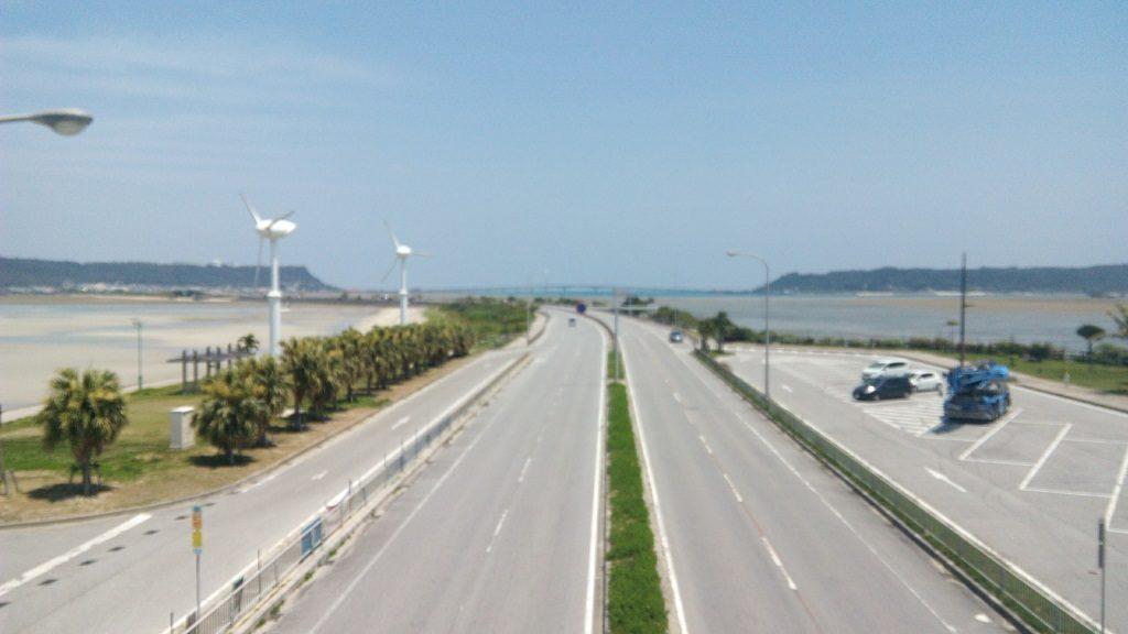 沖縄の海中道路2