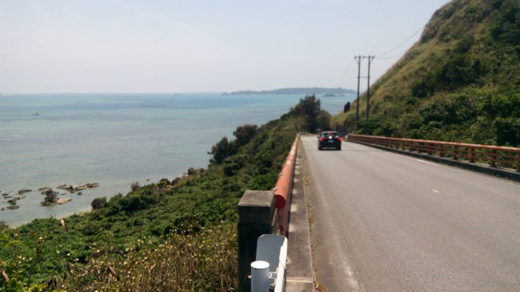 Driving scenery of Henza-jima Island 2