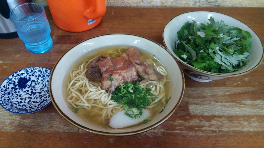 Soki soba (extra large) of Tamaya