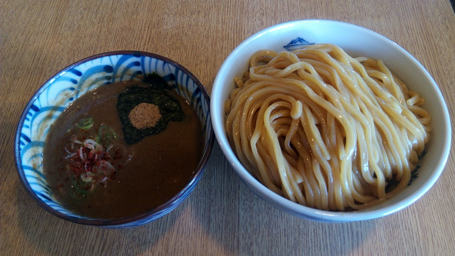 Rich fish pork bone Tsukemen noodle (Big)