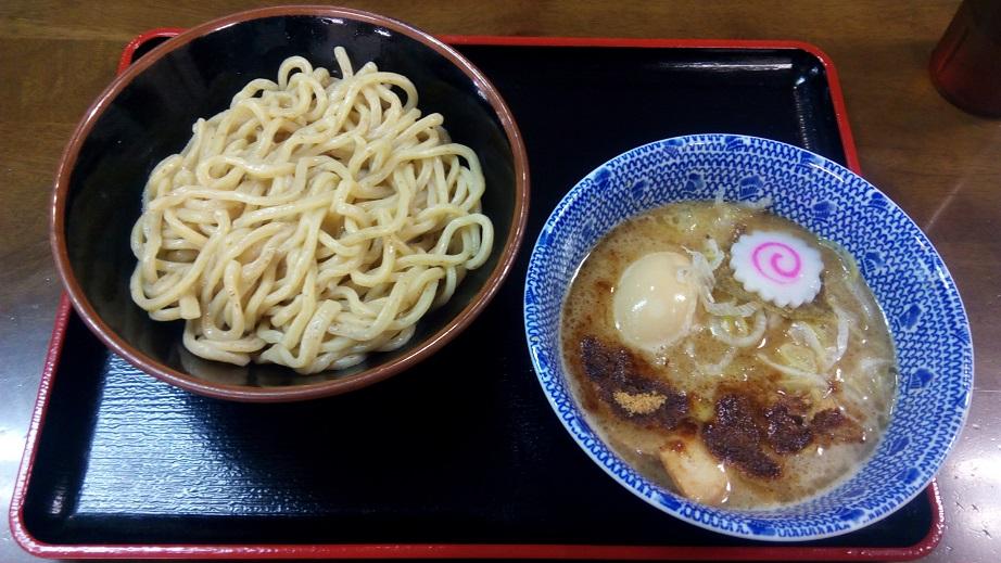 三竹寿の味玉濃厚つけ麺
