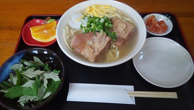 ソーキそば(大)