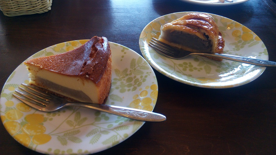 Taimo cheesecake and Taimo pie