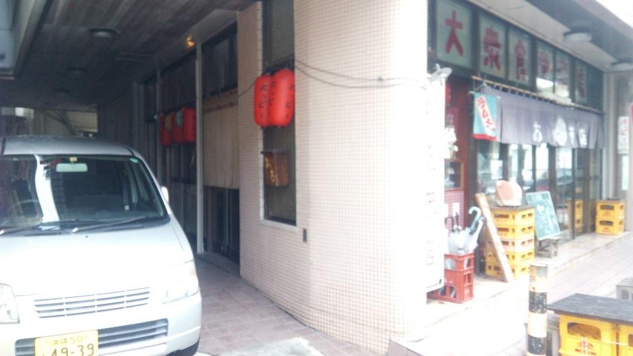 おる商店の入口