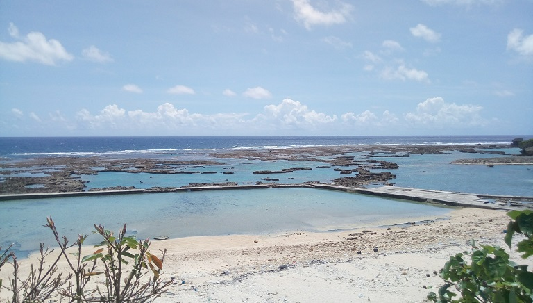 沖縄の地元んちゅしか知らない秘密のビーチ、八重瀬町の玻名城ビーチでシュノーケリングしてきました