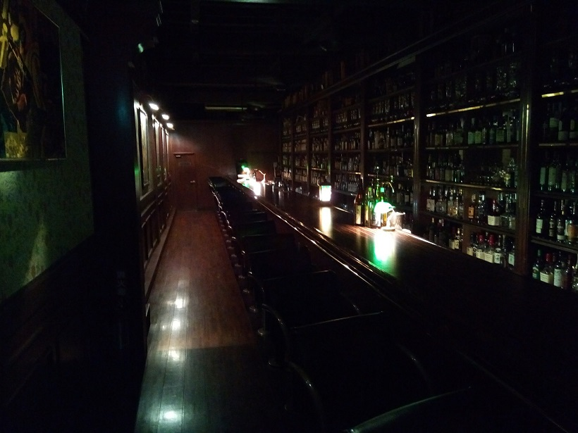 Inside photo of Bourbon club