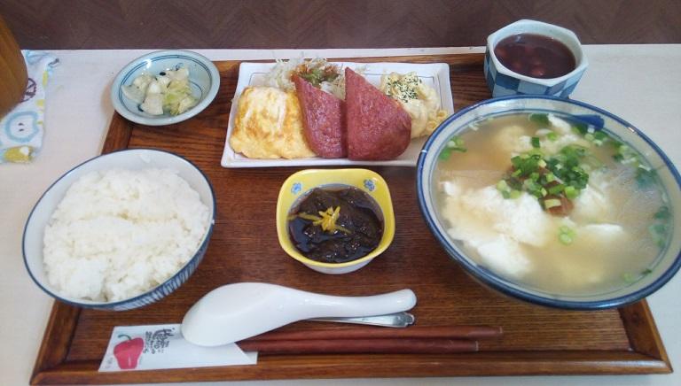 Yushi tofu set meal