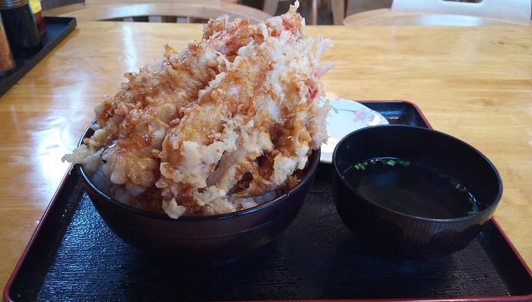 seafood tempura bowl