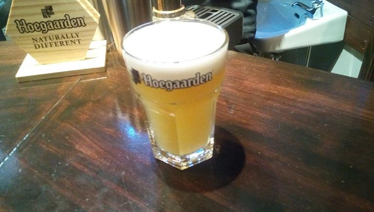 ヒューガルデンビール