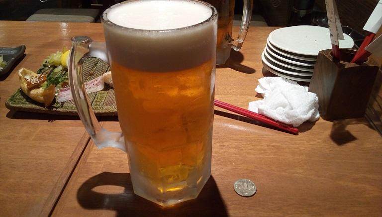 an oversized mug of beer