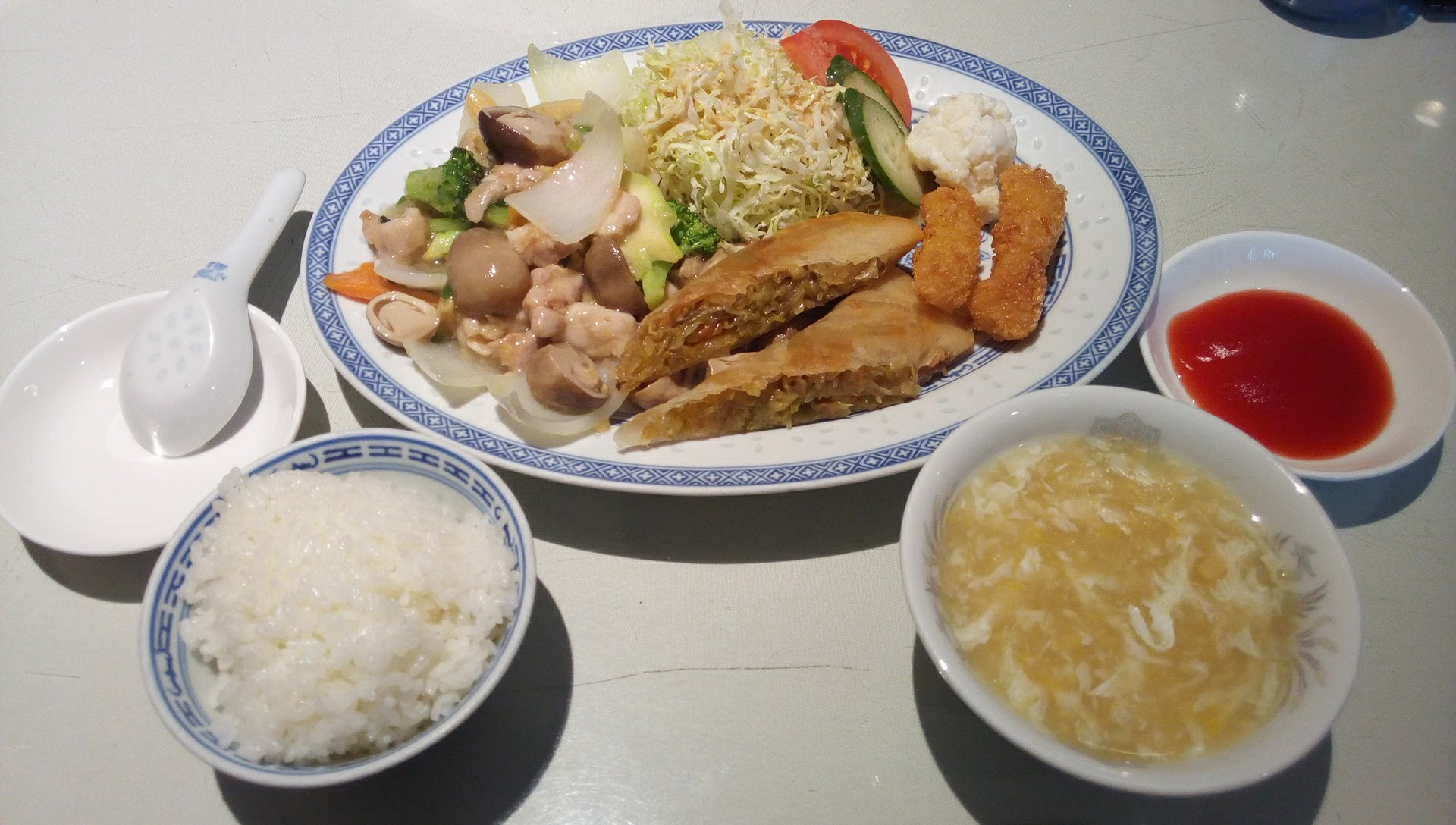 Kuzyaku lunch
