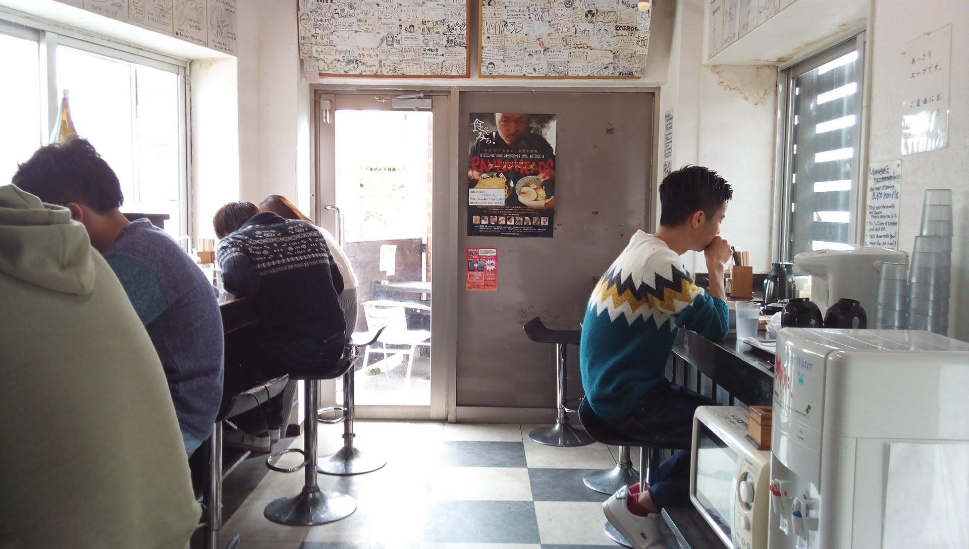 麺やKEIJIROの店内写真