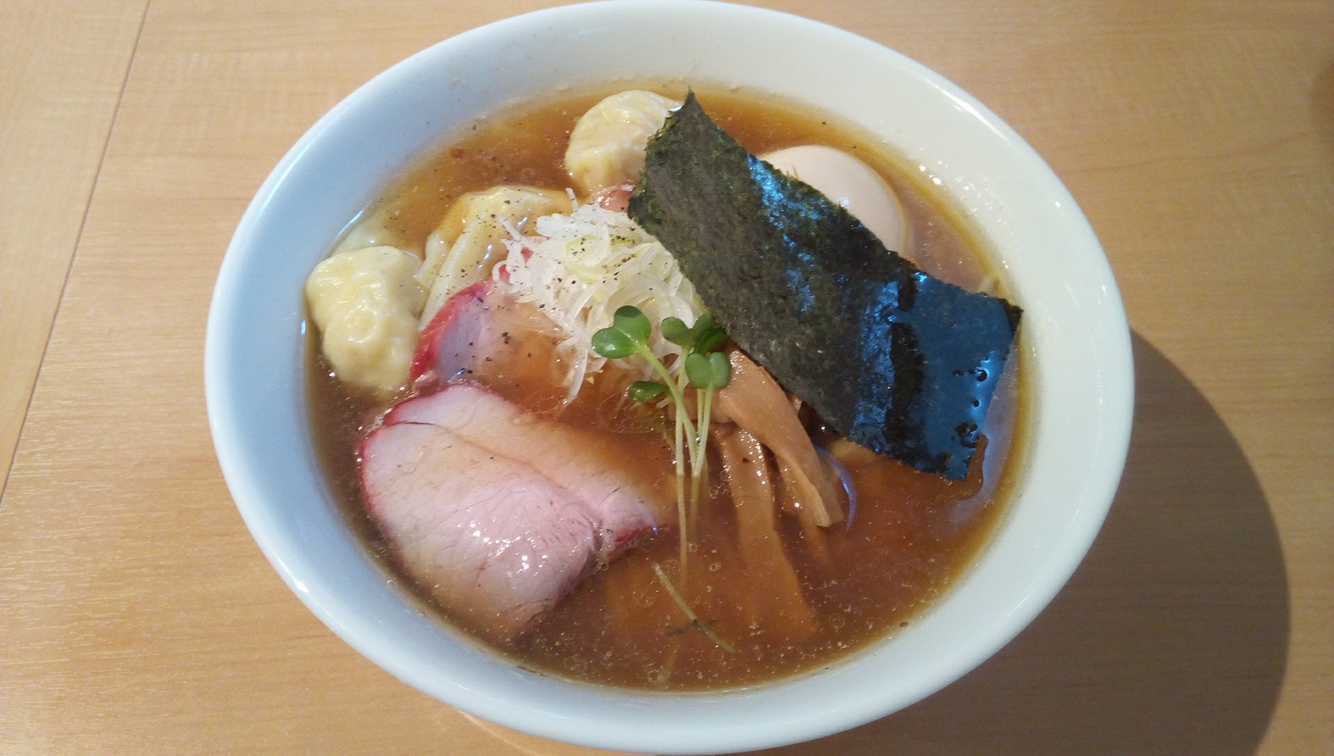 特製味玉ワンタン麺
