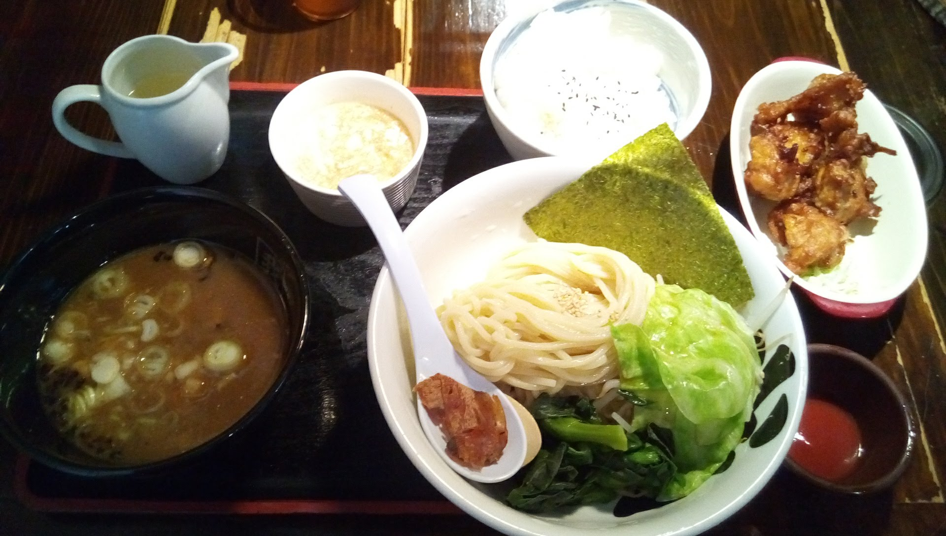 Tsukemen set of Garyuya