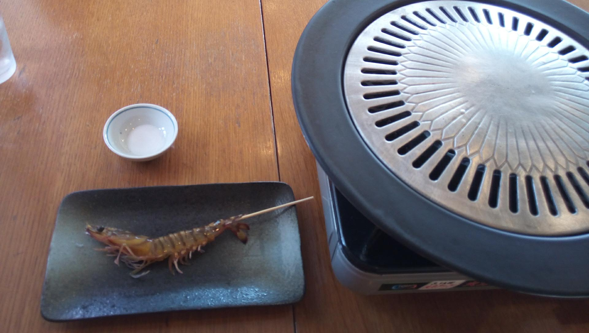 grilled shrimp with salt 1