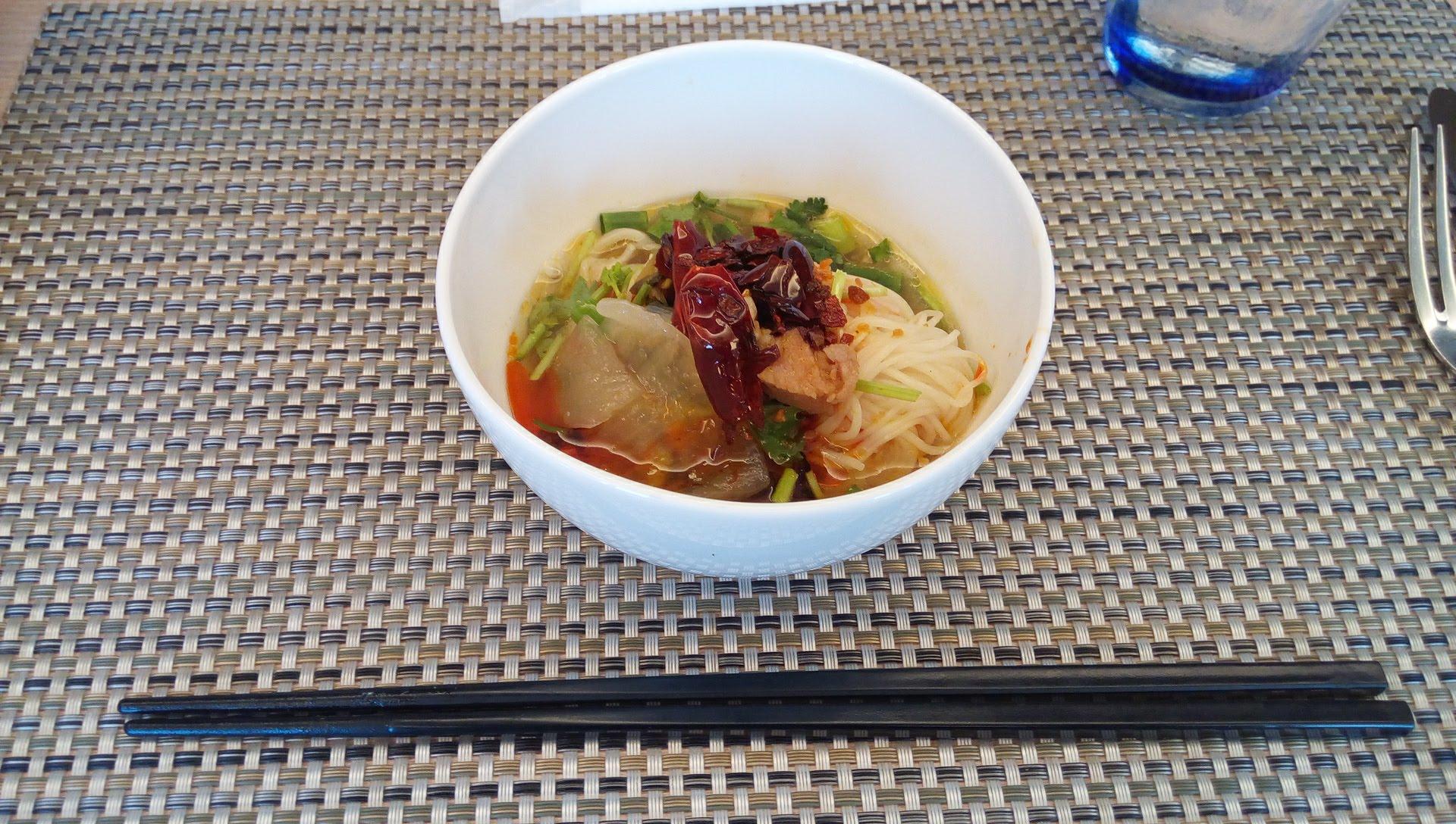 Thai style hot noodles