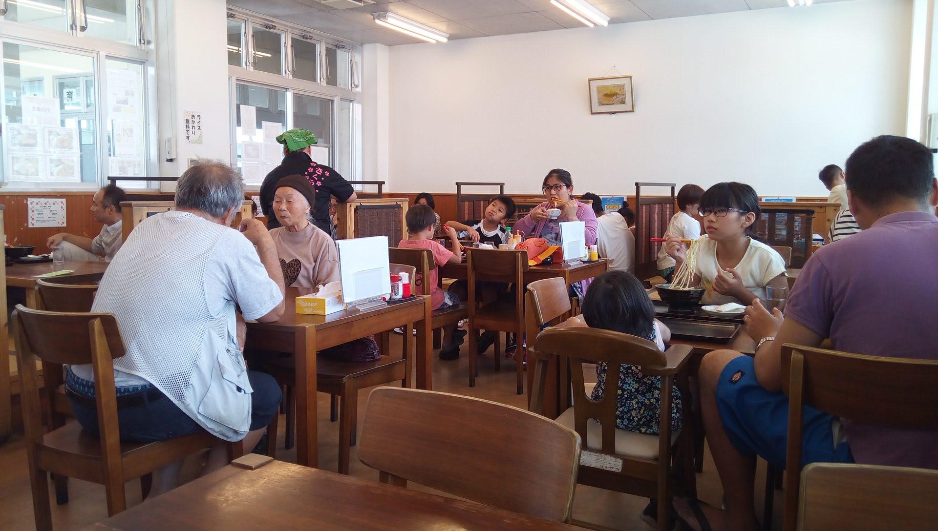 さくら食堂の店内写真