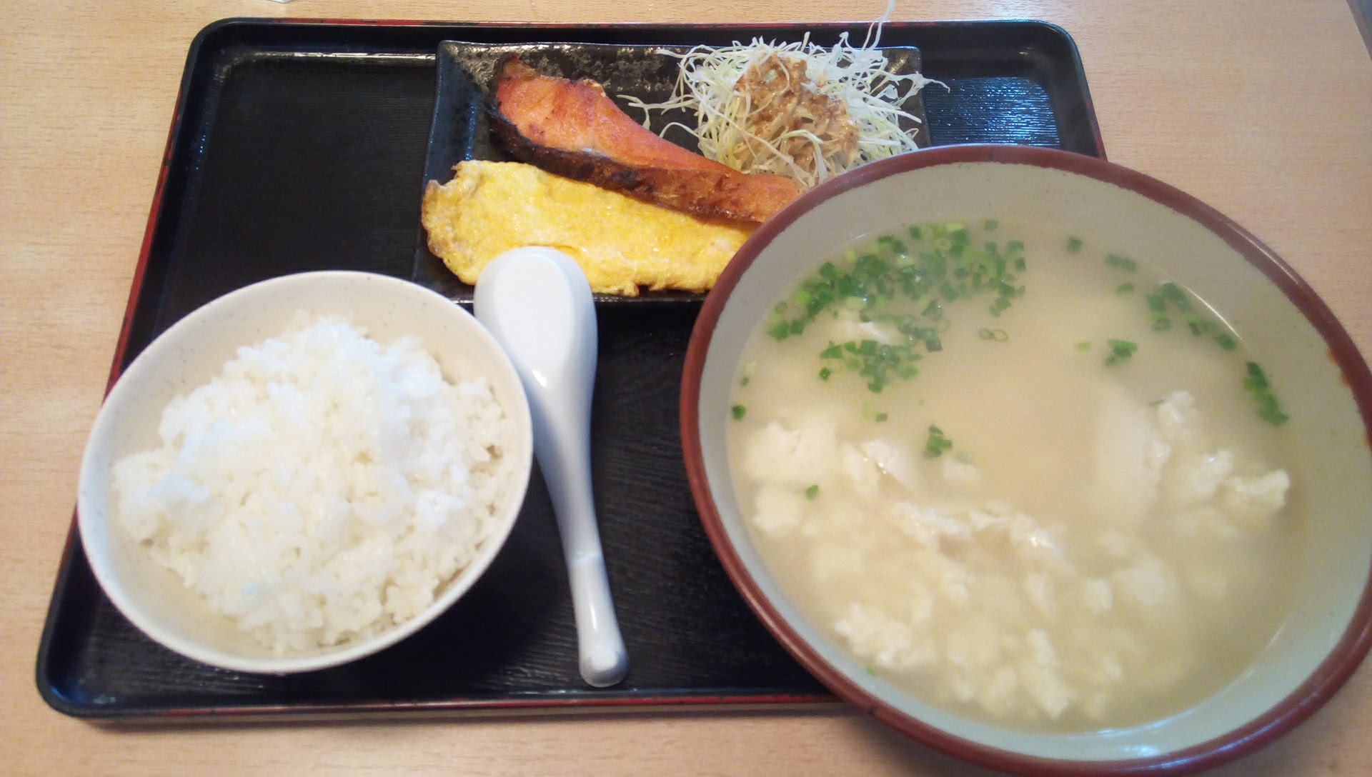Yushi dofu set meal