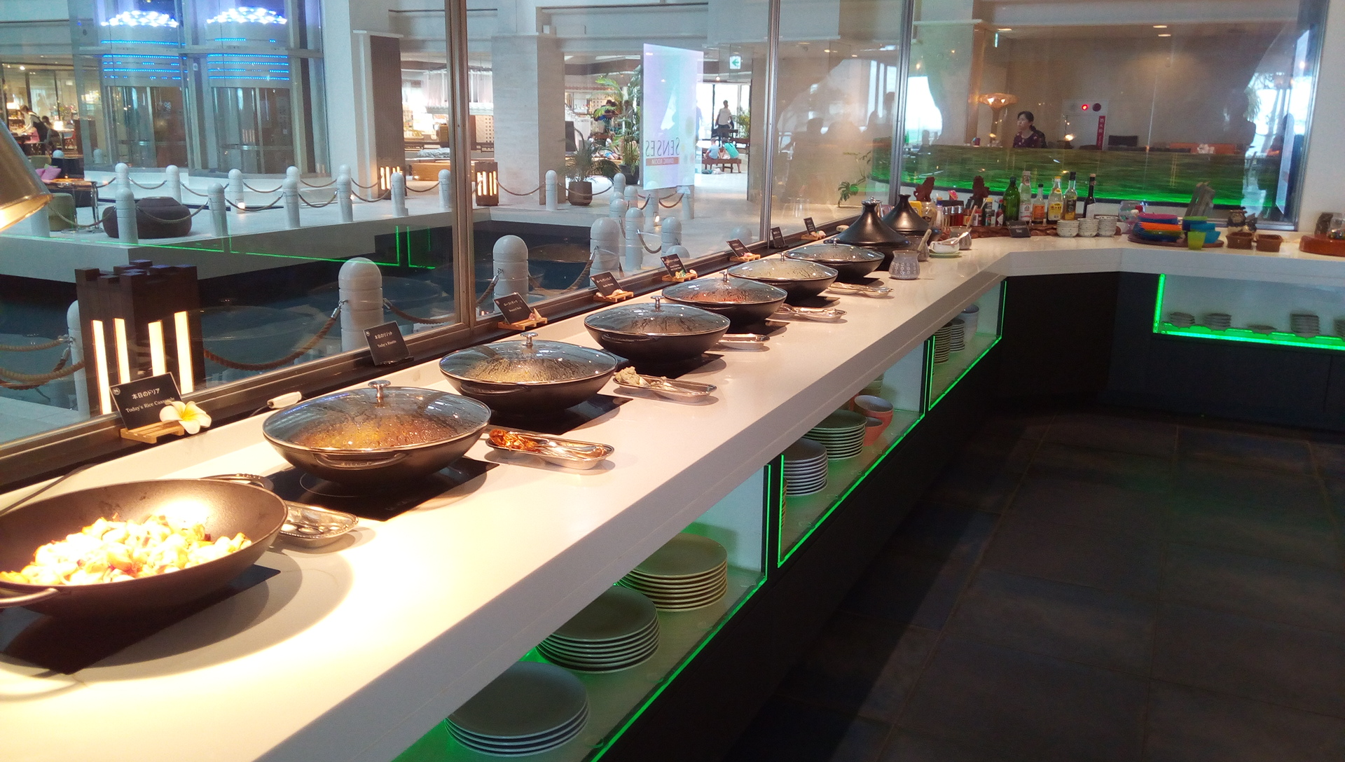 SENSES lunch buffet 1
