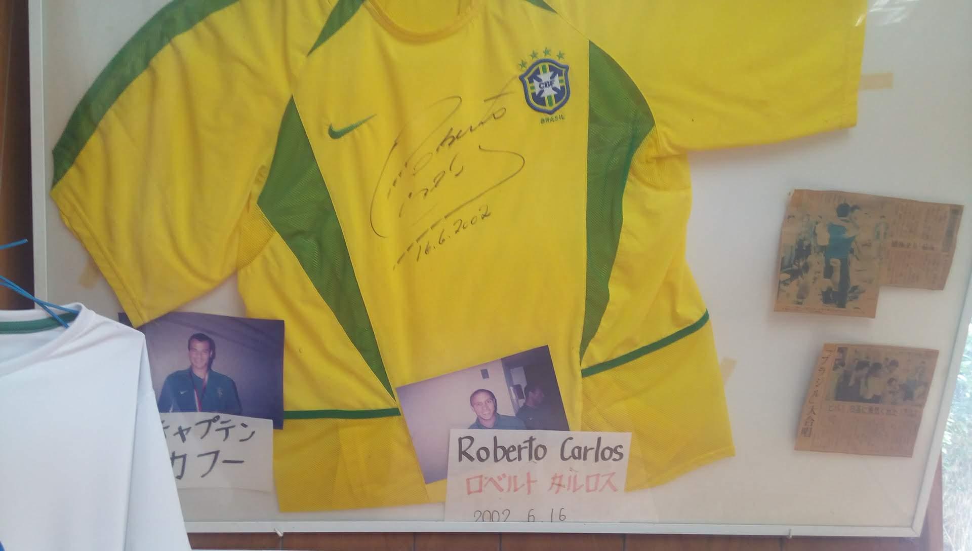 ロベルト・カルロスの直筆サイン