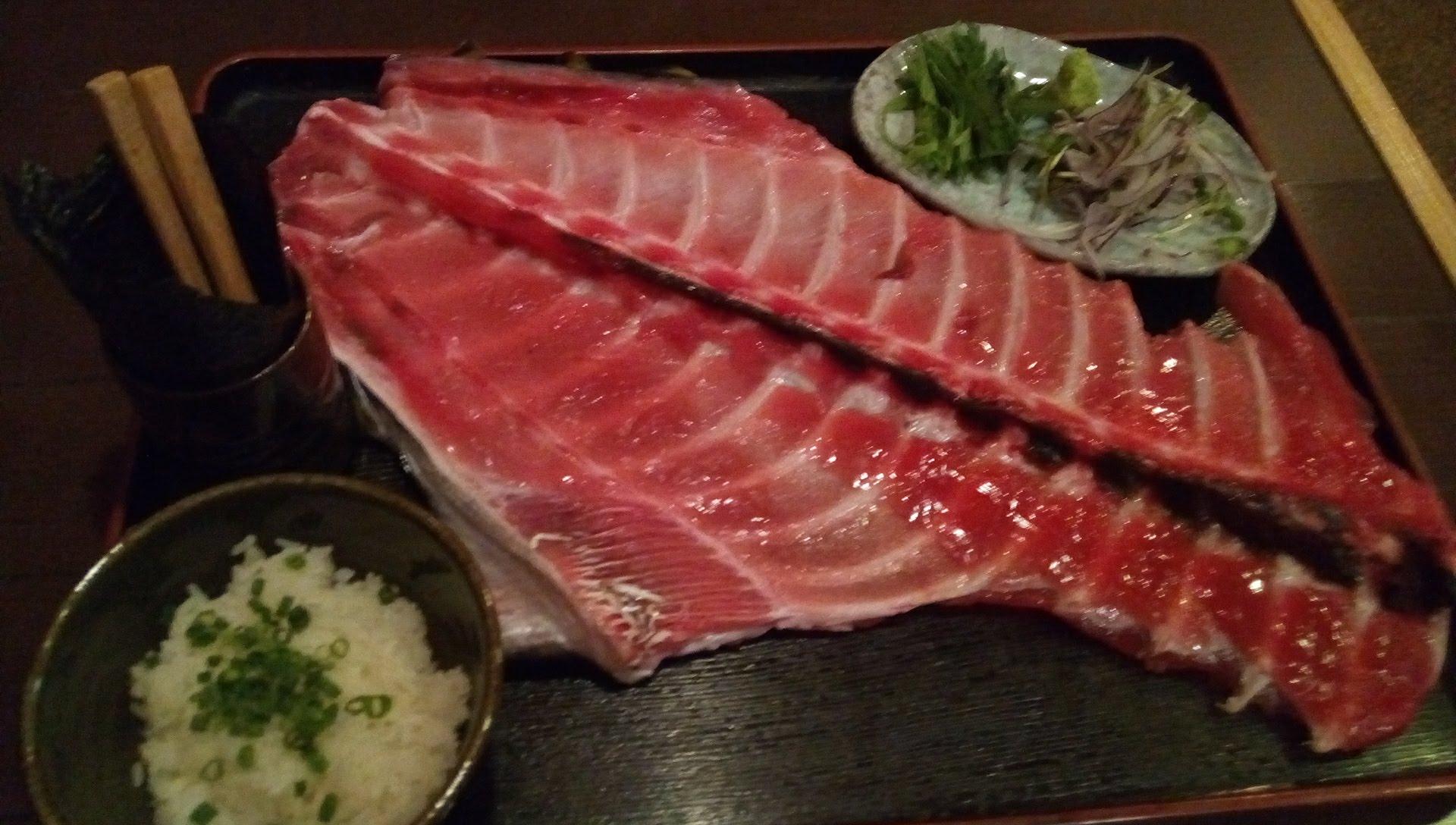 recommend Tuna Nakaochi with bone