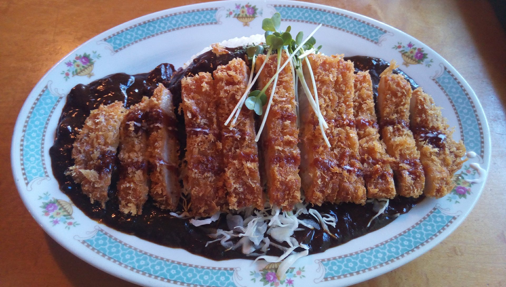 Prefectural Produce Yanbaru Pork cutlet Black Curry