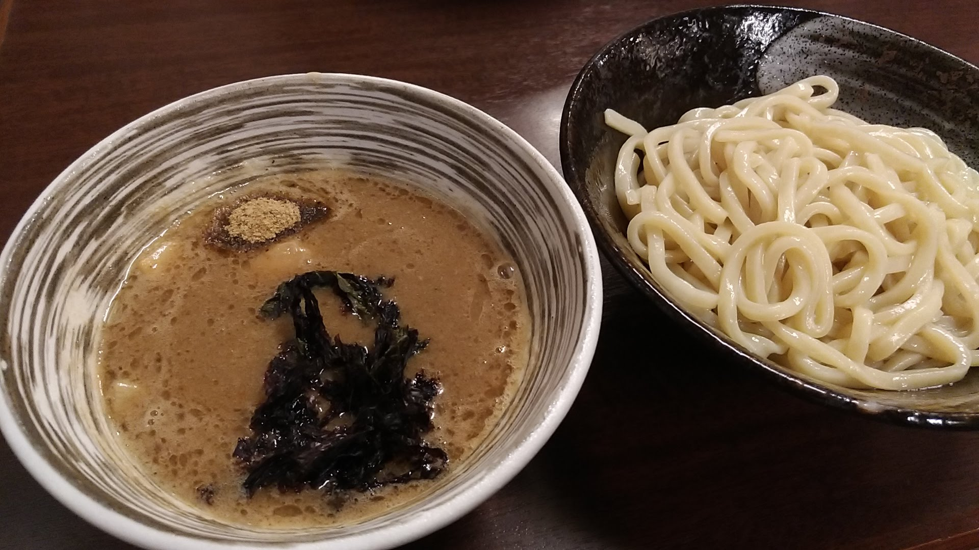 Rich chicken and fish dream Tsukemen