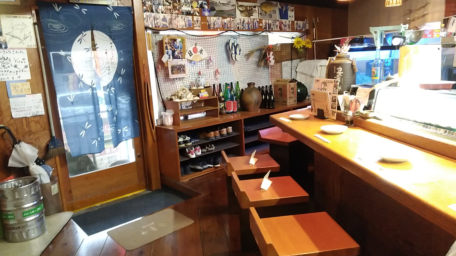 The seafood tavern Kaikyo interior 1