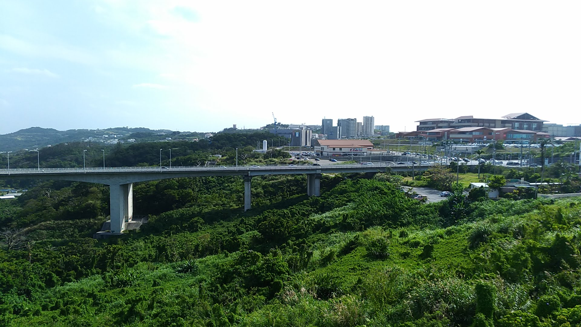 Rycome Okinawa seen from the terrace