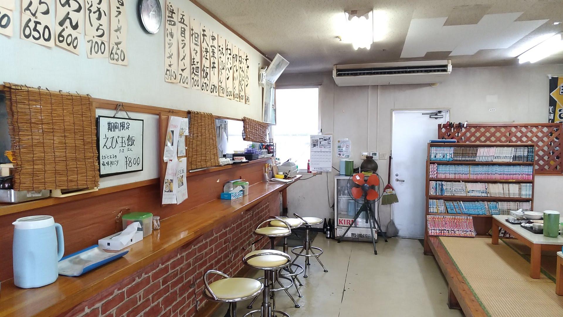 The interior of Mensaku 1