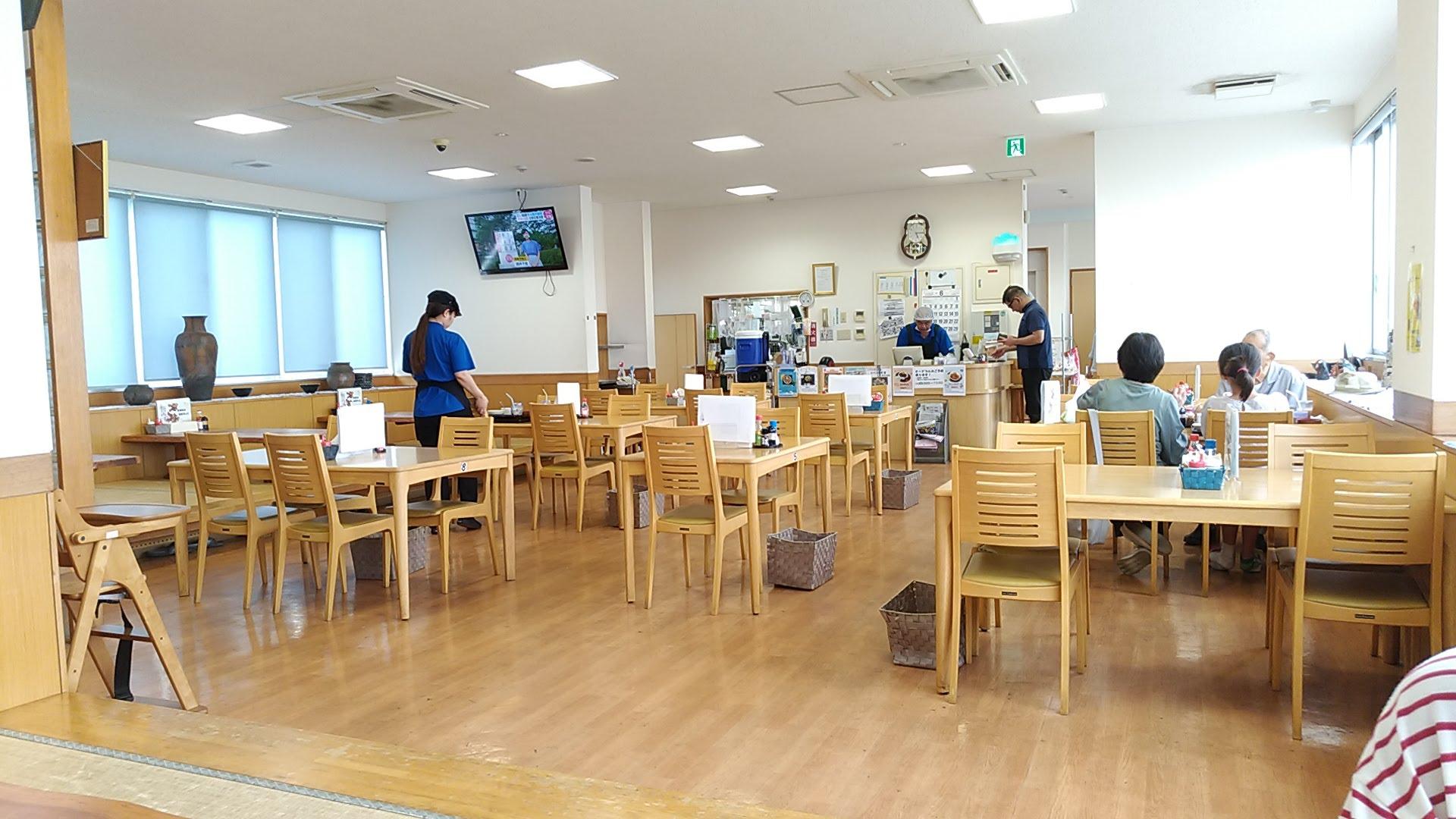 ぴゅあ食堂の店内写真