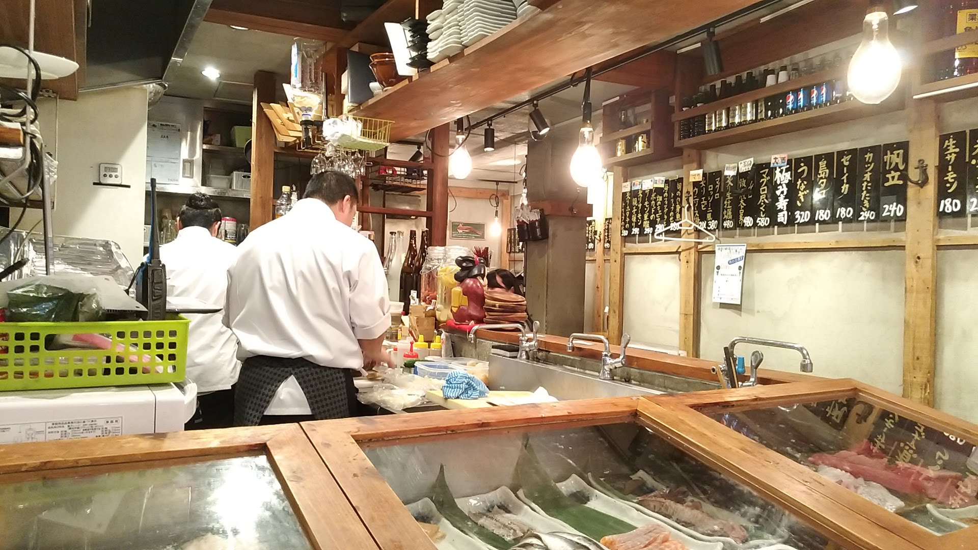 inside photo of Sakana sushi