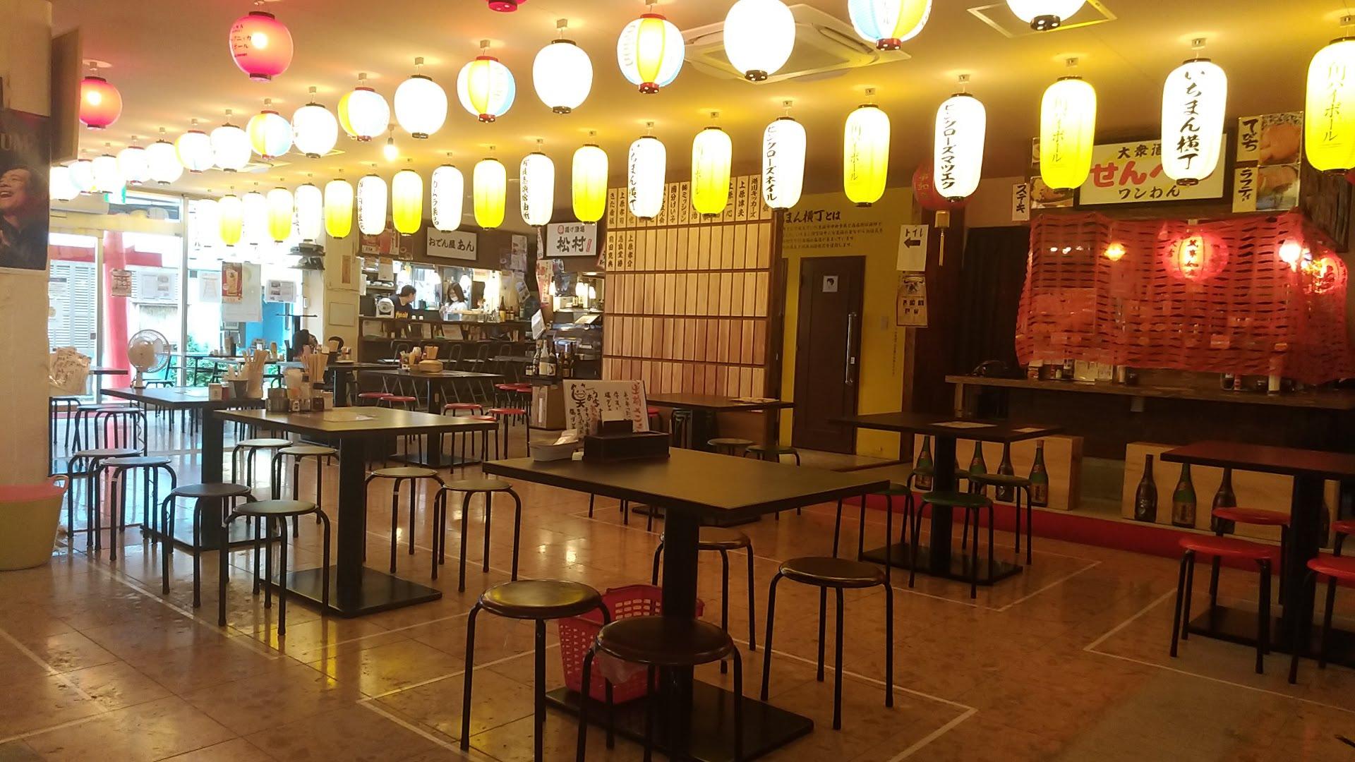 The Ichiman Yokochou interior