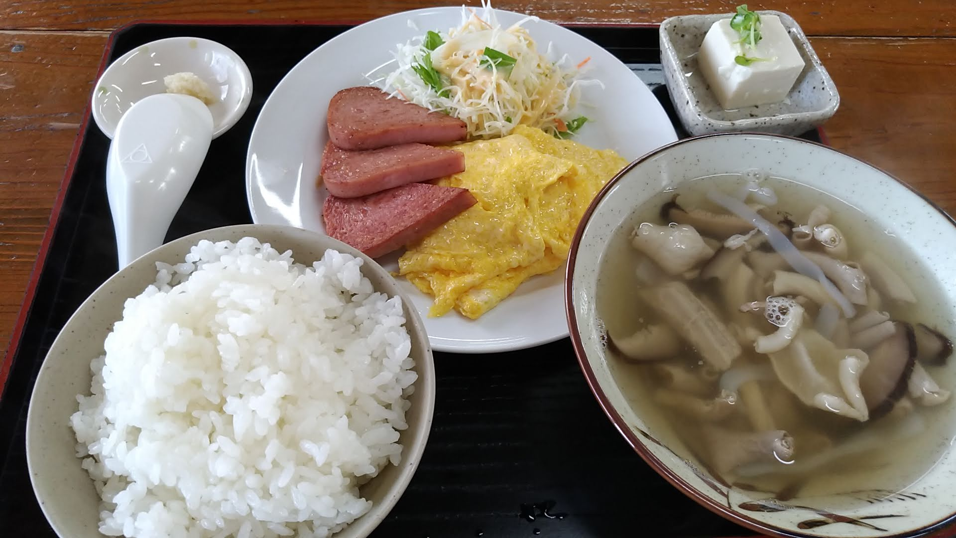 Nakamijiru set meal