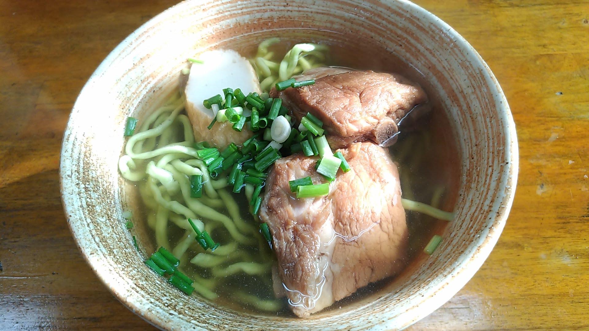 Okinawa soba of Mi-yaguwa