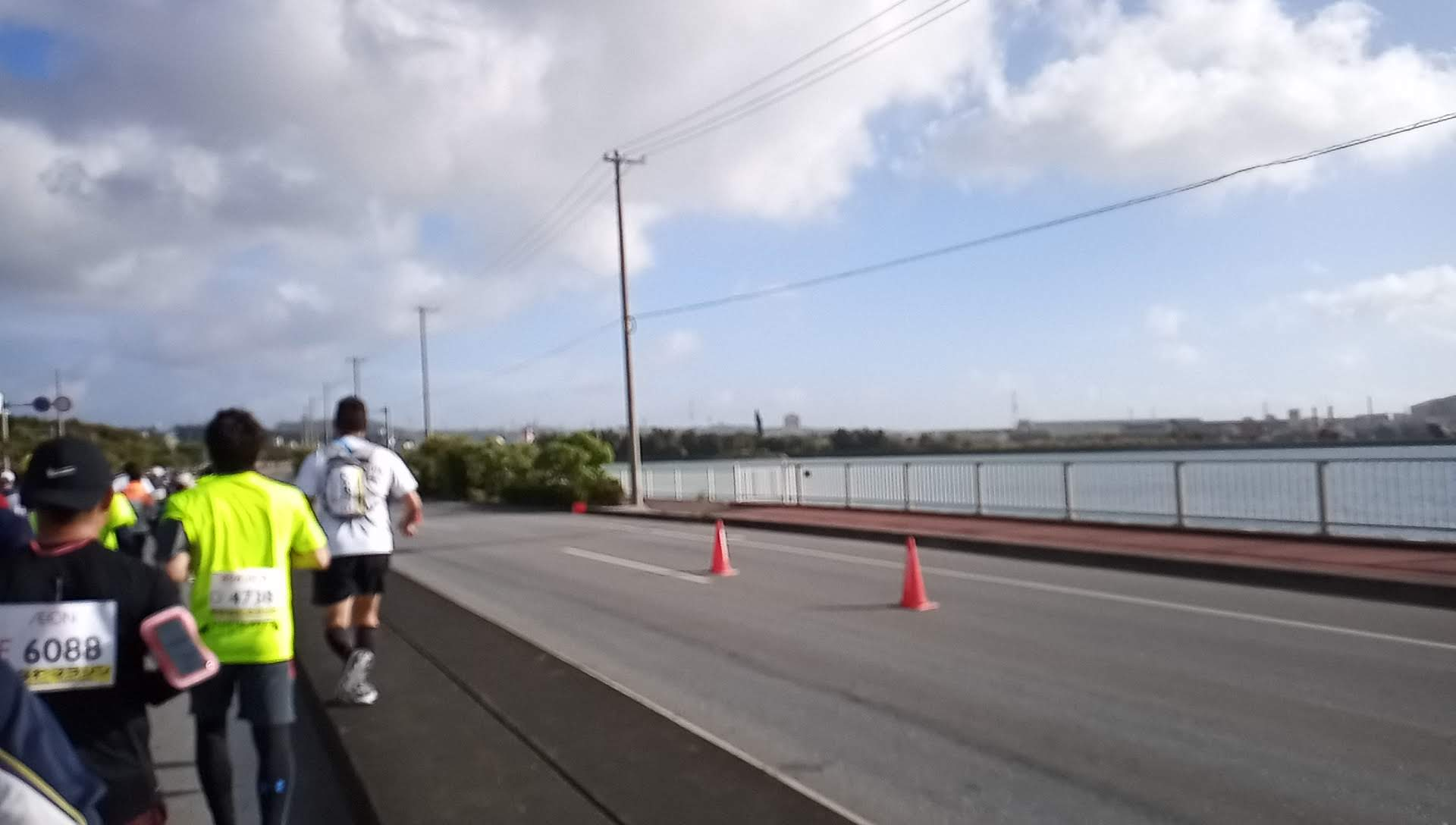 This is about 2 km from the start