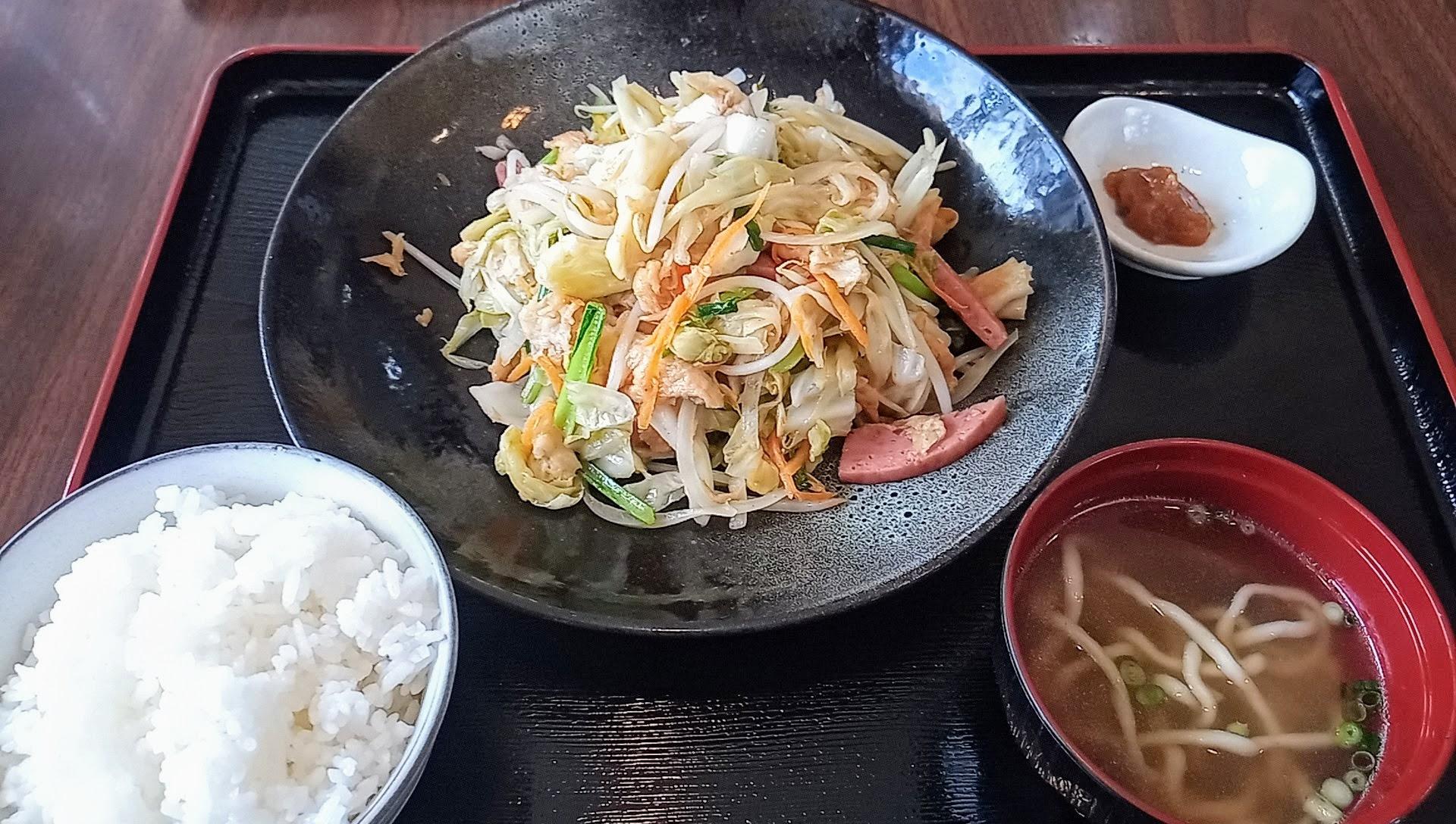 Fu-Chanpuru set meal