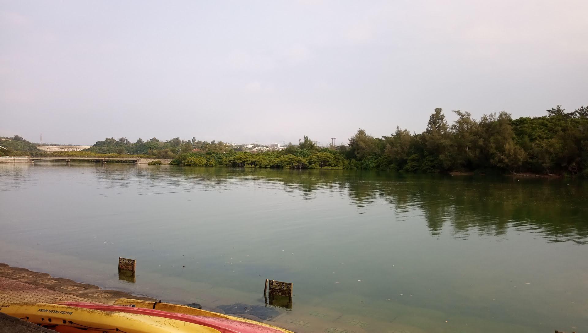 The Okukubi River in the morning