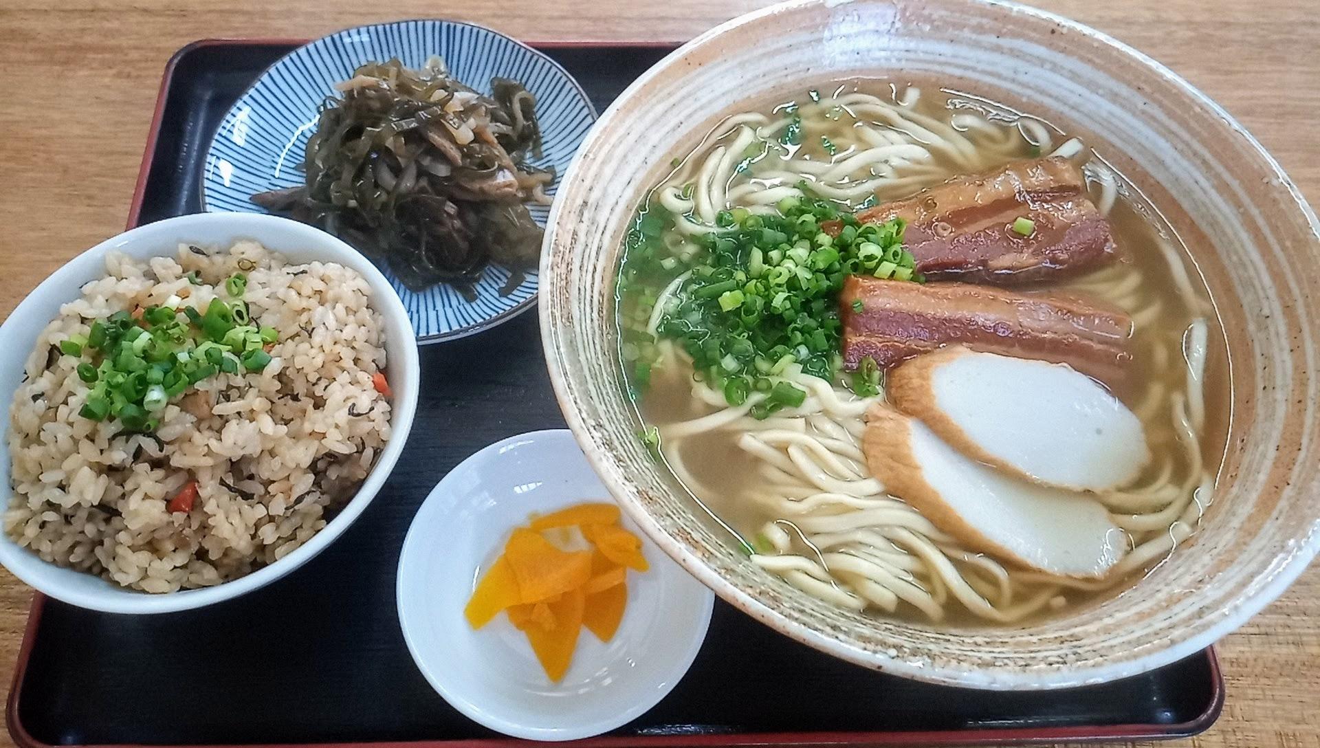 the Okinawa soba set (large)