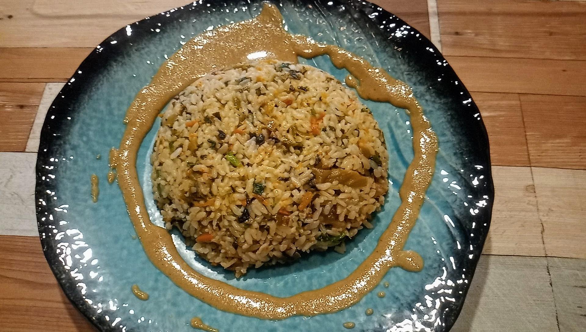 ココナッツミルクタイ風炒飯